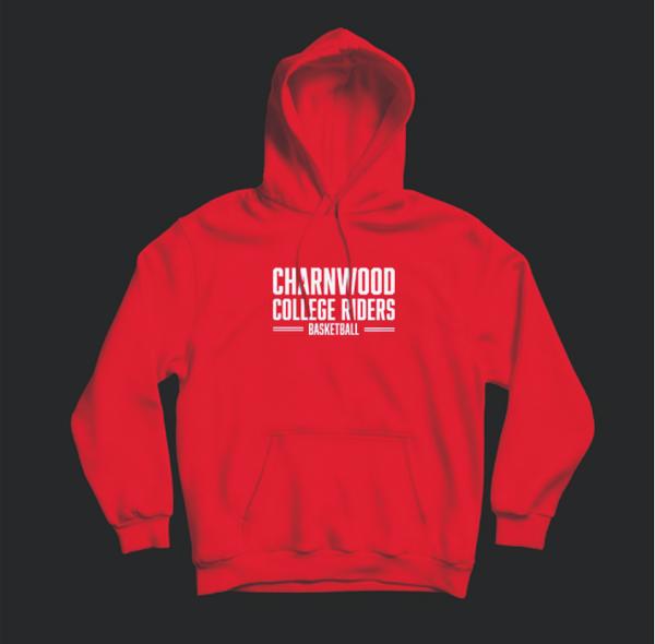 Charnwood College Riders Hoodie Red (Medium)