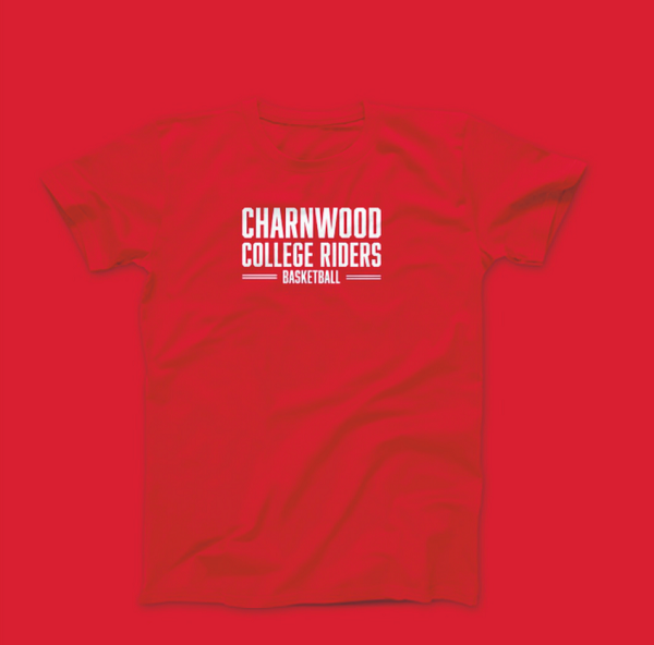 Charnwood College Riders T-shirt Red (Small)