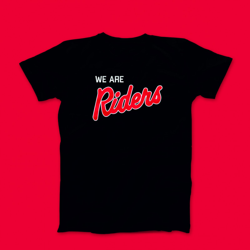 We Are Riders - T-Shirt (Large)